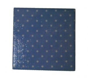 Ceramic Wall Tiles Made With Cath Kidston Mini Spot Blue
